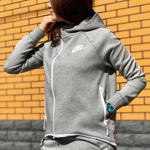 NIKE Sportswear Tech Fleece Cape Zip Jacket New M